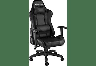 TECTAKE Premium Racing Bürostuhl Twink Bürostuhl, schwarz