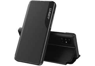 COFI Eco Leather Smart View Case Hülle, Bookcover, Samsung, Galaxy M31, Schwarz
