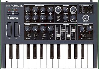 ARTURIA MicroBrute Analog Synthesizer Synthesizer, Schwarz