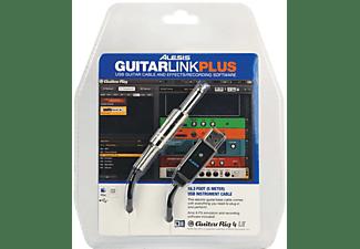 ALESIS Guitarlink Plus Interface  Klinke / USB Audio Interface, Schwarz