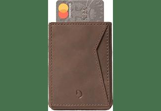 DECODED Leder Pull Wallet Braun Braun