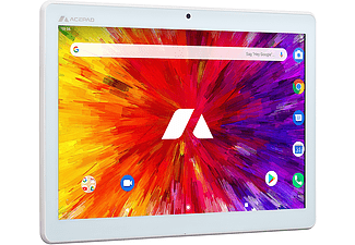 ACEPAD A130, LTE, Octa-Core, Tablet, 64 GB, 10,1 Zoll, Weiß