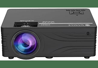 LA VAGUE LV-HD240 Wi-Fi Bundle schwarz Beamer(HD-ready, 2000 Lumen