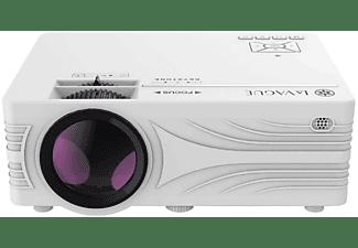 LA VAGUE LV-HD240 Wi-Fi Bundle weiß Beamer(HD-ready, 2000 Lumen