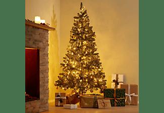 TECTAKE Lichterkette Weihnachten Weihnachtsbeleuchtung, grün