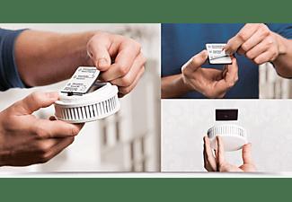 PYREXX  PX-1 V3Q mit Magnetklebepad Rauchmelder, weiss