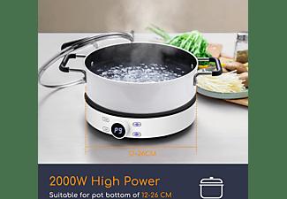 AIGOSTAR 207007NES Cookmate 30INN Induktionskochplatte (Kochfelder: 1)
