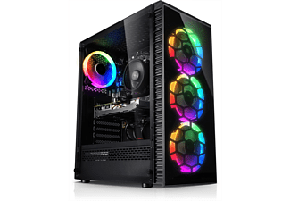 KIEBEL Thunder, Gaming PC, 32 GB RAM, 1 TB SSD, 2 TB HDD, GeForce RTX 3070 Ti, 8 GB