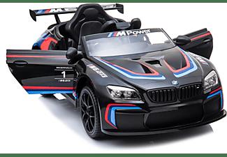 4TRADERS KIDS CARS Elektroauto BMW M6 GT3 Elektroauto Schwarz