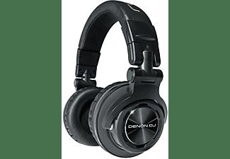 DENON DJ DN-HP 1100, Over-ear DJ Kopfhörer Schwarz