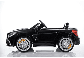 4TRADERS KIDS CARS Kinder Elektroauto Mercedes Benz SL65 Elektroauto Schwarz