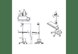 VALUE PC/LCD-Rollständer Rollständer