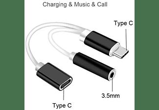 AKTREND 2in1 USB Typ C Audio Adapter Ladekabel 2in1 USB Typ C Audio Adapter Ladekabel Adapter