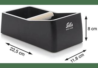 SOLIS OF SWITZERLAND Knock Box Abklopfbehälter Kaffeesatz | Schwarz