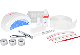 EMMI-NAIL Nail Starter-Set UV/LED Galaxy weiß Nagel Modellage Set Weiß