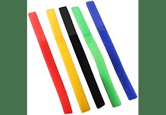 SHIVERPEAKS Kabelbinder, 16x215mm, Klettverschlussband 5er Set, Kabelbinder, 215 mm
