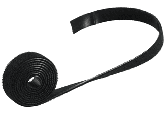 SHIVERPEAKS Klettverschlussband 14mm, schwarz, 1m, Klettverschluss, 1 m