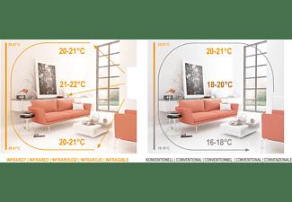 VIESTA F700 Heizpaneel + Thermostat TH12 Infrarotheizung (700,00 Watt)