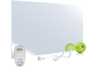 VIESTA H450-SP Spiegel Infrarotheizung + Thermostat TH10 Infrarotheizung (450,00 Watt)