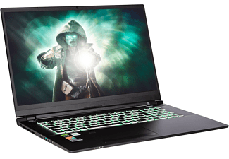 CAPTIVA Highend Gaming I61-001, Gaming-Notebook mit 17,3 Zoll Display, 32 GB RAM, 500 GB SSD, NVIDIA GeForce® RTX 3070 8GB, schwarz
