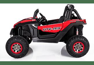KIDCARS Kinder Elektro UTV Auto LEDER 4x 45W Elektroauto 10