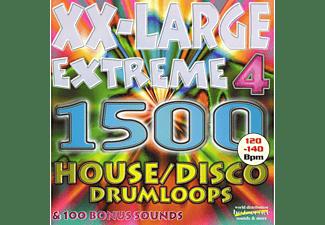 XXL Extreme 4 House / Disco Drumloops (Audio-CD)
