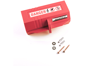 WALLBOX24.DE DER E-PROFI Absperrung von Steckverbindungen Zubehör e-Mobil Ladestationen, Red