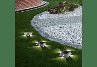 MAXXMEE Solar-Bodenleuchte Solar-Bodenleuchte