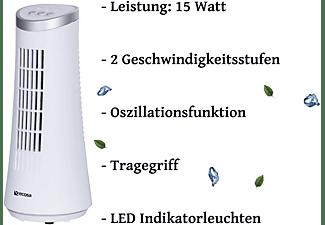 ECHOS EO-303 Tischventilator Widdow White (15 Watt)