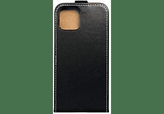 KÖNIG DESIGN Handyhülle, Flip Cover, Apple, iPhone 12 / 12 Pro, Schwarz