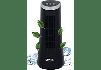ECHOS EO-302 Tischventilator| leise | energiesparend | Ventilator | Memphis Black (15 Watt)