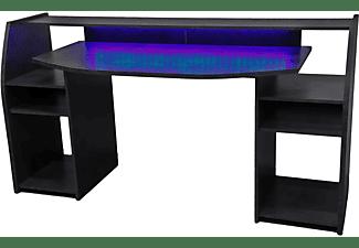 WOHNORAMA Gaming Tisch inkl. LED RGB Beleuchtung Gaming Tisch