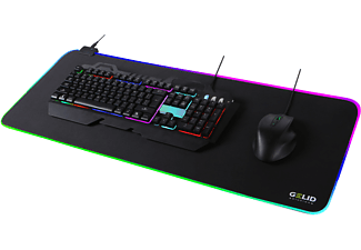 GELID Nova Mauspad XL LED Gaming Mouse pad RGB (300 mm x 800 mm)