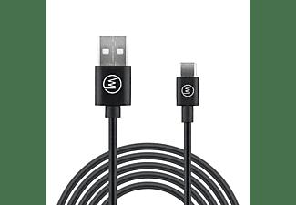 WICKED CHILI USB-C auf USB-A 3.0 Schnelladekabel (3A, 15W, 5V) USB Kabel