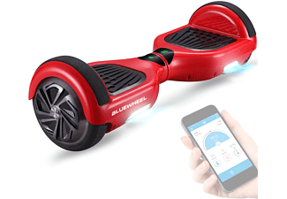 BLUEWHEEL ELECTROMOBILITY Hoverboard HX310s (6,5 Zoll, Rot)