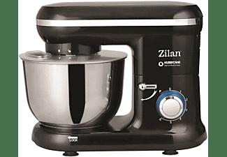 ZILAN ZLN-3185 Küchenmaschine Memphis Black (Rührschüsselkapazität: 4,5 Liter, 1000 Watt)