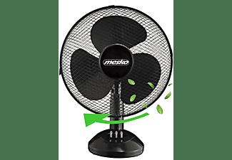 MESKO MS-7308 Tischventilator Ventilator Kleiner Ventilator Memphis Black (25 Watt)