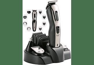 ADLER EUROPE AD-2924 5in1 Haarschneider Set | Konturenschneider | Bart Trimmer | Haarschneidemaschine Golo Grey / Memphis Black