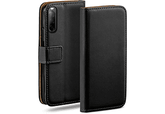 MOEX Book Case, Bookcover, Sony, Xperia 10 II, Deep-Black