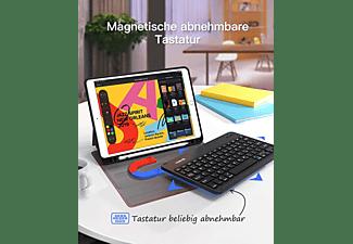 INATECK Tastatur Hülle für iPad 2020(8 Gen)/iPad 2019(7 Gen) 10.2 Zoll, iPad Air 3 und iPad Pro 10.5 KB02012, iPad Tastatur