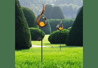 GLOBO LED Solarleuchte Solarlampe Bronze 72235129 Solarleuchte
