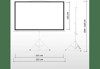 "ESMART Professional MISATI Stativ 221 x 125 cm (100"") 16:9 Stativ-Leinwand"
