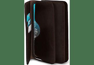 MOEX Purse Case, Flip Cover, ZTE, Axon 11 / Axon 11 5G, Dunkelbraun