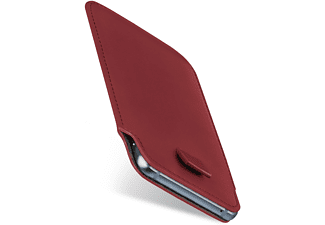 MOEX Slide Case, Sleeve, Sony, Xperia XZ2 Compact, Maroon-Red