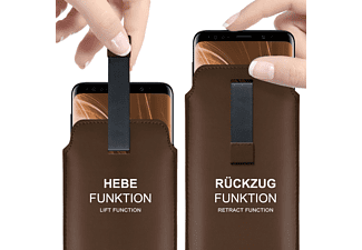 MOEX Slide Case, Sleeve, Sony, Xperia XZ1 Compact, Oxide-Brown