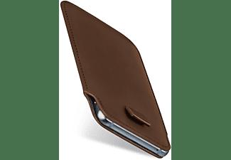 MOEX Slide Case, Sleeve, Lenovo, Moto Z Play, Oxide-Brown