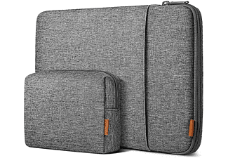 INATECK Laptoptasche für 13 Zoll MacBook Air , MacBook Pro/12,9 iPad Pro,360° Rundumschutz Notebooktasche Sleeve für Apple,Lenovo, HP,Acer,Asus,SAMSUNG,Dell,Toshiba und andere Polyester, grau