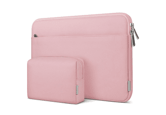 INATECK Laptoptasche Hülle Notebook Sleeve für 14 Zoll Laptops, 15 Zoll MacBook Pro 2016-2019 Notebooktasche Sleeve für Apple,Lenovo, HP,Acer,Asus,SAMSUNG,Dell,Toshiba und andere Polyester, rosa