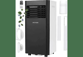 ECHOS Eco-112 Mobiles Klimagerät 9000 BTU Mobile Klimaanlage Aircooler Widdow White (Max. Raumgröße: 50 m², EEK: A)