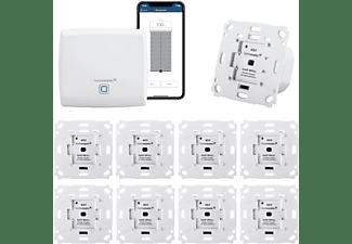 HOMEMATIC IP Funk Rolladensteuerung für 9 Rolläden | Smart Home Set mit App | Alexa kompatibel Rollläden